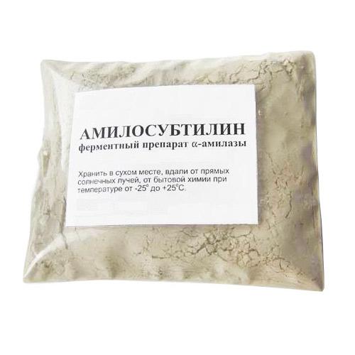 Купить Фермент Амилосубтилин, 100 г в Иваново, заказать по цене 99 рублей в интернет-магазине Колба